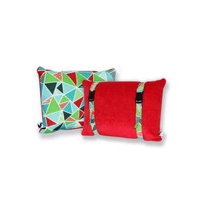 Vodeodolný, obojstranný vankúšik Dream Pillow Tomato Geo
