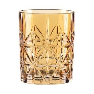 Pohár na whisky z krištáľového skla Nachtmann Highland Amber, 345 ml
