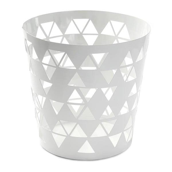 Odpadkový kôš White Polygon