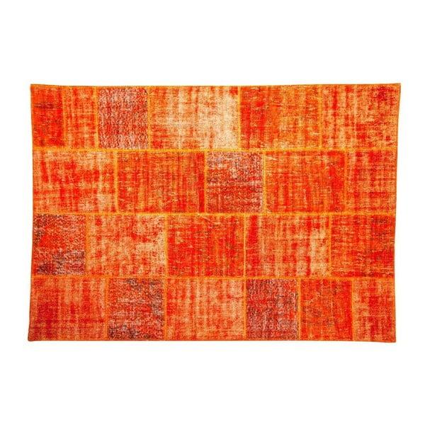 Vlnený koberec Allmode Orange, 200x140 cm