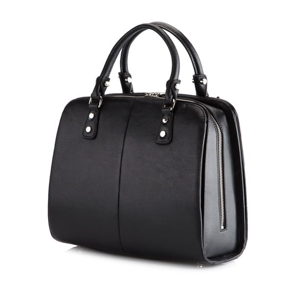 Kožená kabelka Venus Bag Black