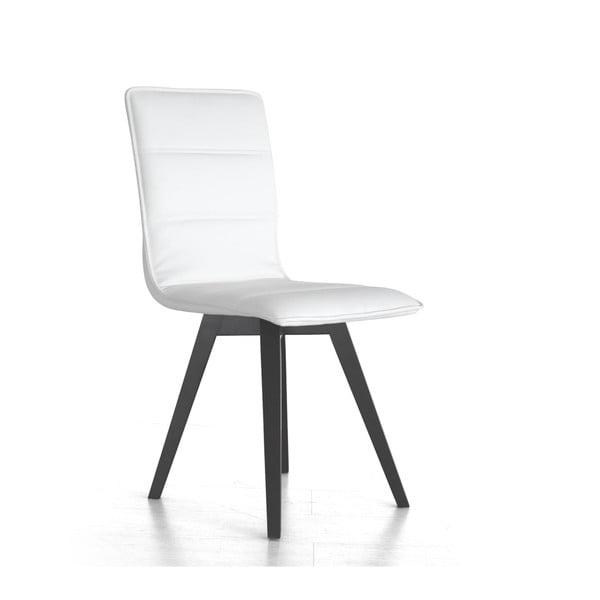 Jedálenská stolička Iris, biela