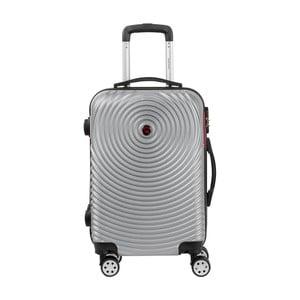 Sivá príručná batožina na kolieskach Murano Traveller, 55×34cm