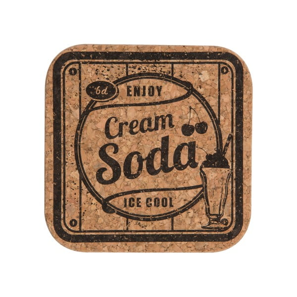 Sada 4 podložiek Soda Cordial