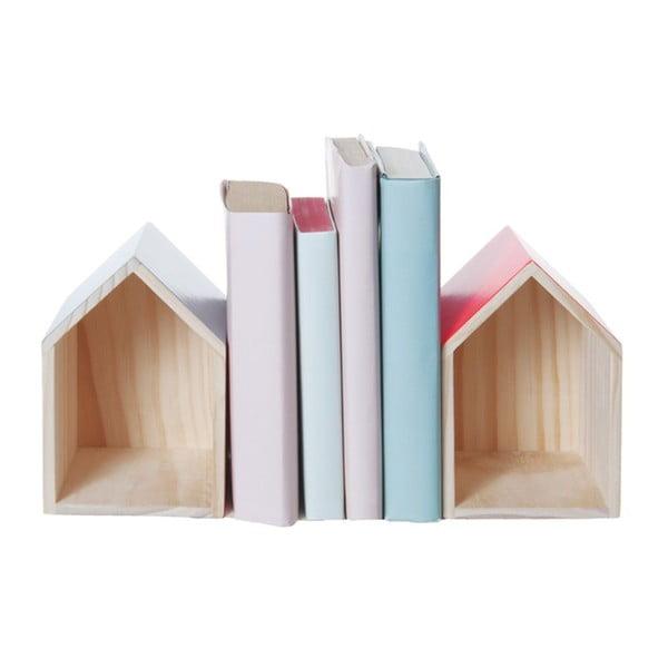 Sada 2 zarážiek na knihy Box House