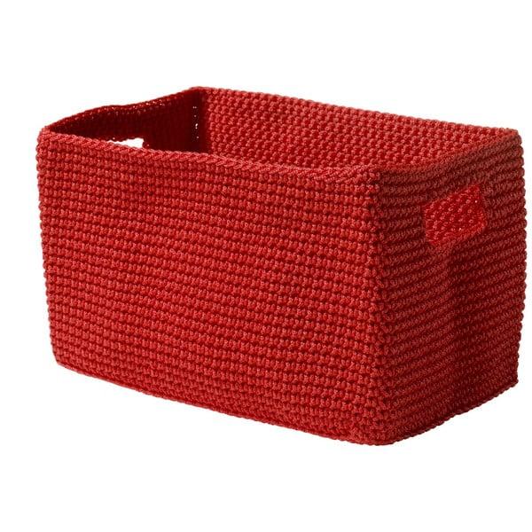 Košík Confetti Red, 22 cm