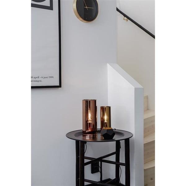 Stolová lampa v mosadznej farbe Markslöjd Storm, ⌀ 9 cm