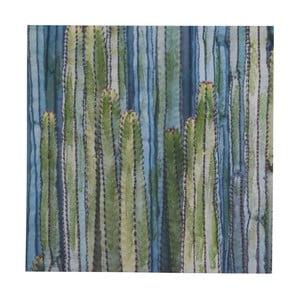 Nástenný obraz na plátne Geese Modern Style Cactus Dos, 70 × 70 cm