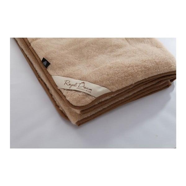 Vlnená deka Royal Dream Merino, 160×200cm