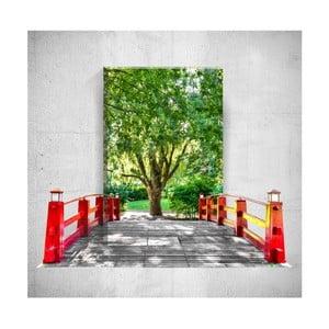 Nástenný 3D obraz Mosticx Bridge To The Tree, 40×60 cm