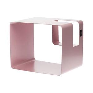 Ružový stojan na časopisy MEME Design Libris