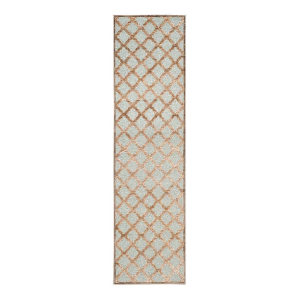 Hnedý koberec Safavieh Anguilla, 66 × 243 cm