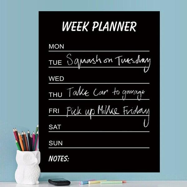 Dekoratívna samolepka Calendario Week