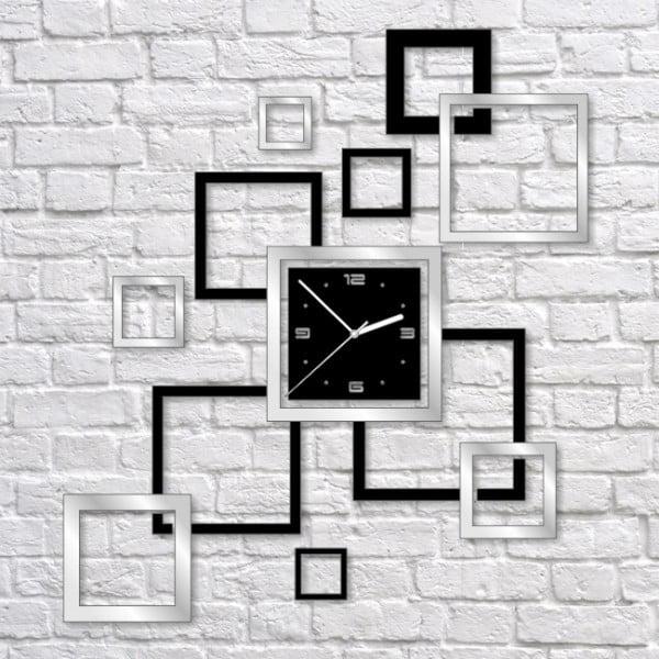 Nástenné hodiny Black Mirror Frameworks