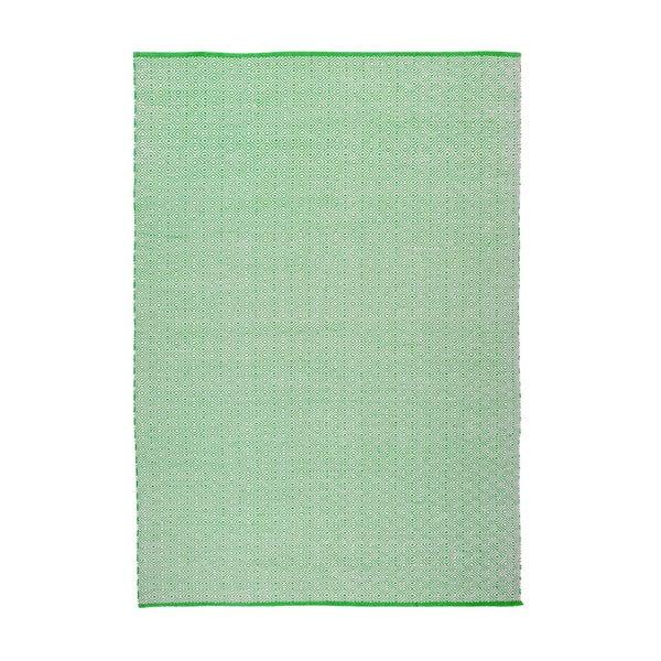 Koberec Calvino White/Green, 120x180 cm