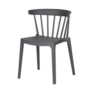 Sivá jedálenská stolička DeEekhoorn Bliss