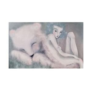 Autorský plagát od Lény Brauner Sen o medveďovi, 60x90 cm