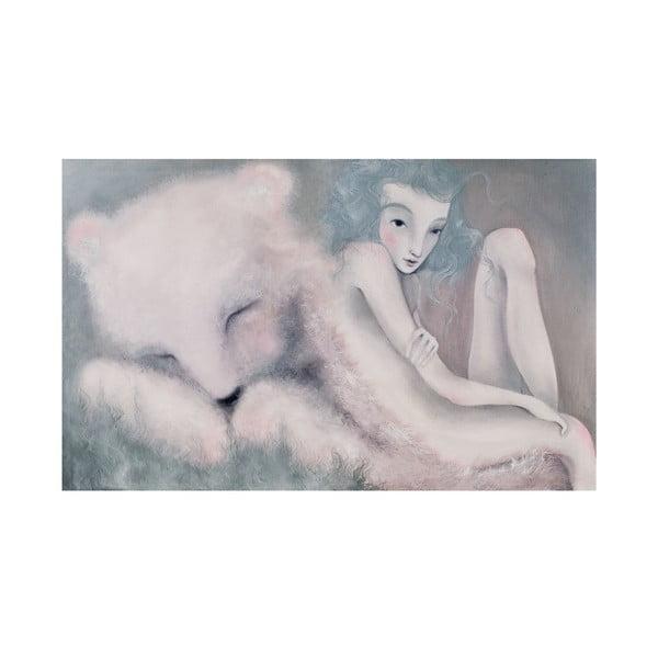 Autorský plagát od Lény Brauner Sen o medveďovi, 40x60 cm