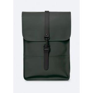 Zelený batoh s vysokou vodoodolnosťou Rains Backpack Mini