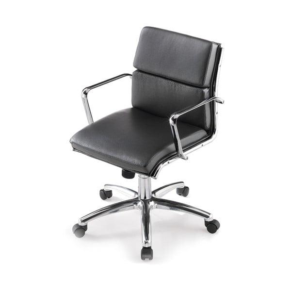 Kancelárska stolička na kolieskach Chrono Zago, černá