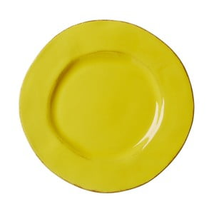 Keramický tanier Shaped Yellow