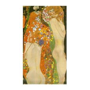 Reprodukcia obrazu Gustav Klimt - Water Hoses, 80x45cm