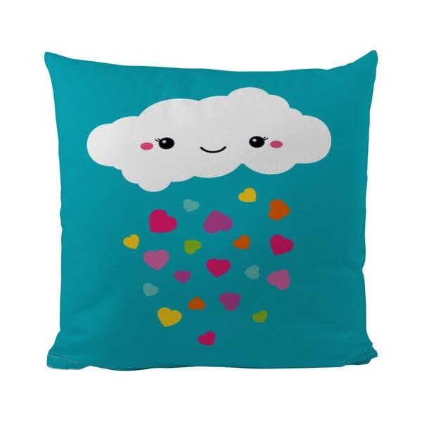 Vankúš Love Raining, 50x50 cm