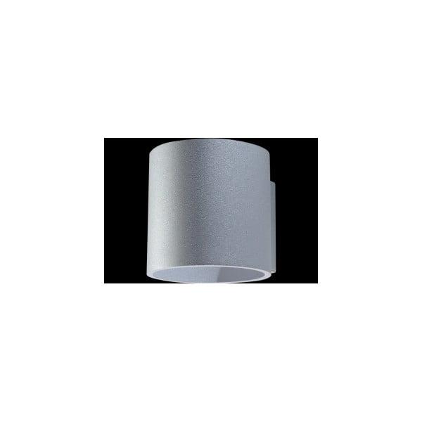 Sivé nástenné svetlo Nice Lamps Roda