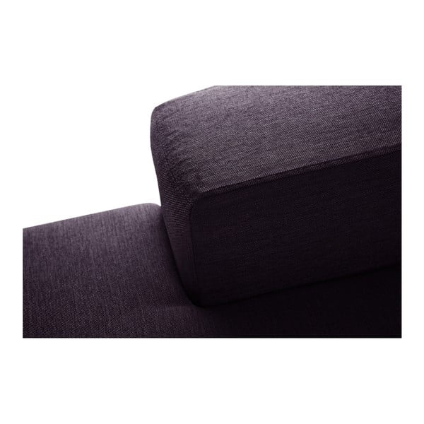 Slivkovofialová sedačka Interieur De Famille Paris Perle, ľavý roh