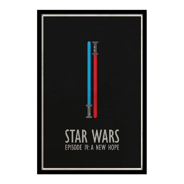 Plagát  Star Wars IV, 35x30 cm