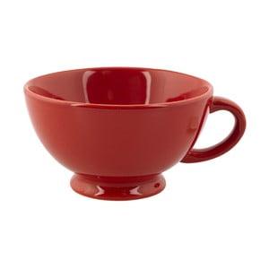 Hrnček Jumbo Cappuccino, červený