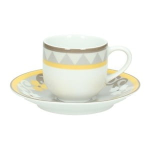 Set 6 šálok na kávu s tanierikmi Tognana Sfera