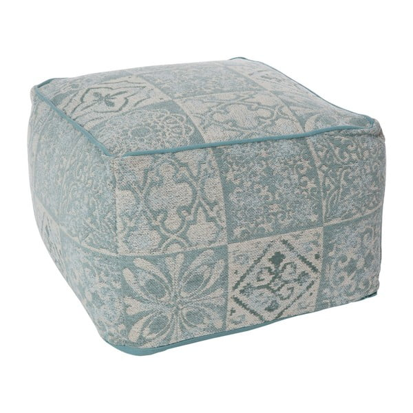 Puf Cotton Grey Blue, 60x40 cm