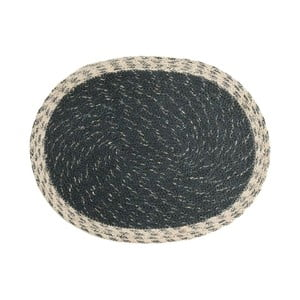 Sivá rohožka z juty Moycor Jute Grey, 35 × 45 cm