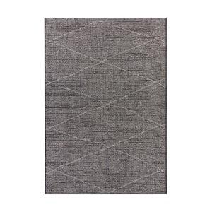 Antracitovosivý koberec Elle Decor Curious Blois, 192×290 cm