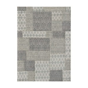 Koberec Patchwork 2 Light Grey, 62x124 cm