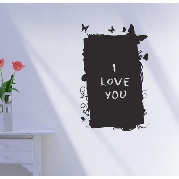 Dekoratívna tabuľová samolepka Farfalle