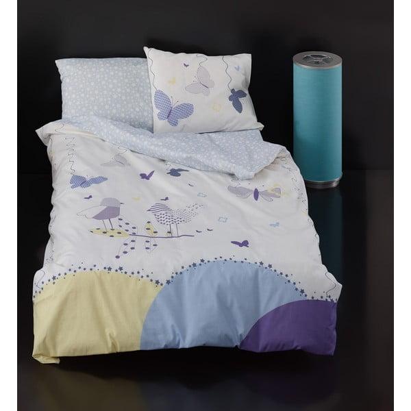Detské bavlnené obliečky s plachtou Florrie, 100 × 150 cm