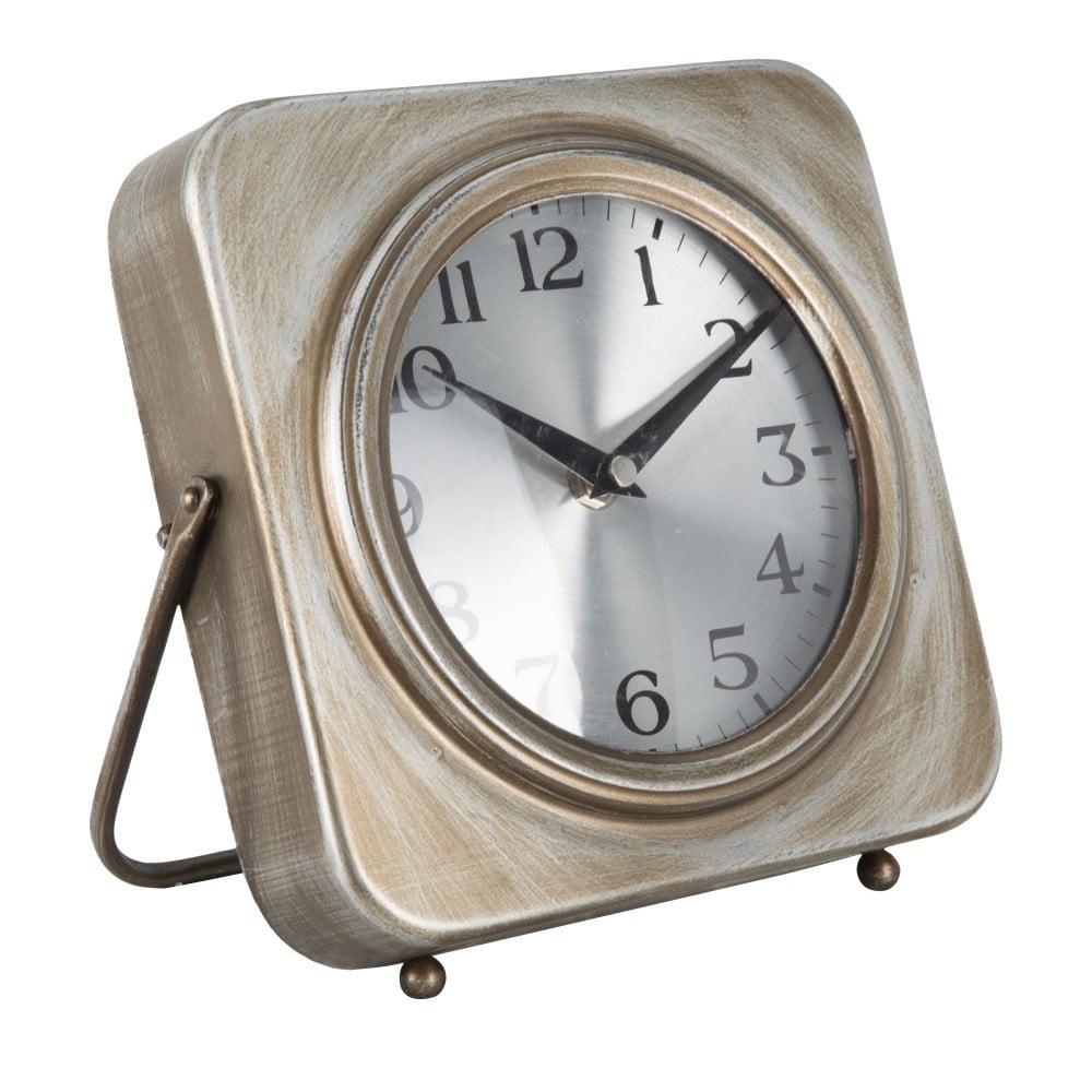 Stolové hodiny Mauro Ferretti Pull Gold, 20 × 20 cm