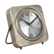 Stolové hodiny Mauro Ferretti Pull Gold, 20×20cm