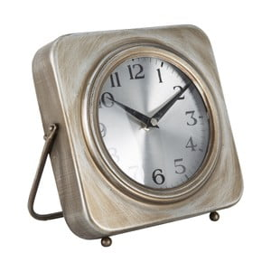 Stolové hodiny Mauro Ferretti Pull Gold, 20 x 20 cm