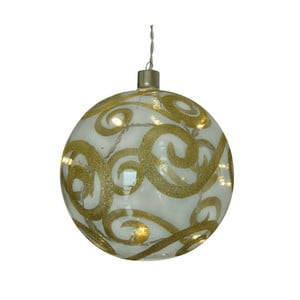 Vianočná sklenená guľa Naeve Sphere, Ø 15 cm