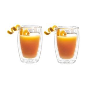 Sada 2 dvojstenných pohárov Bredemeijer Juice