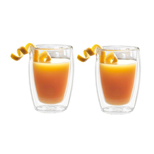 Sada 2 dvojstenných pohárov Bredemeijer Juice, 270 ml
