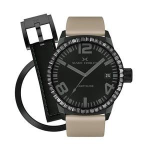 Dámske hodinky Marc Coblen s remienkom a krúžkom na ciferník naviac P114