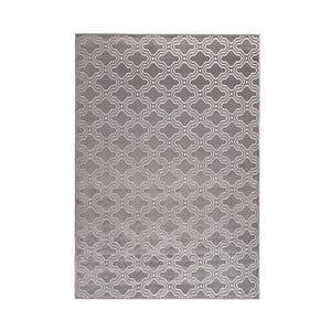 Sivý koberec White Label Feike, 160 x 230 cm