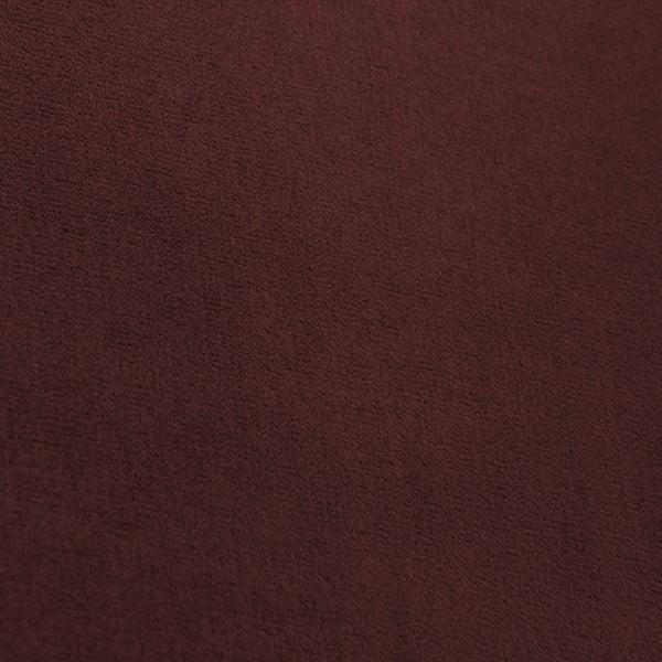 Tmavočervená dvojmiestna pohovka Vivonita Chesterfield