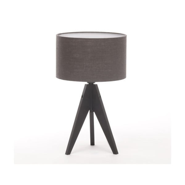 Stolná lampa Arist Cylinder Dark Grey/Black