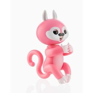 Ružová detská interaktívna veverička s pohybmi a zvukmi InnovaGoods Junior Knows