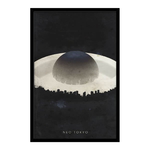 Plagát Neo Tokyo, 35x30 cm